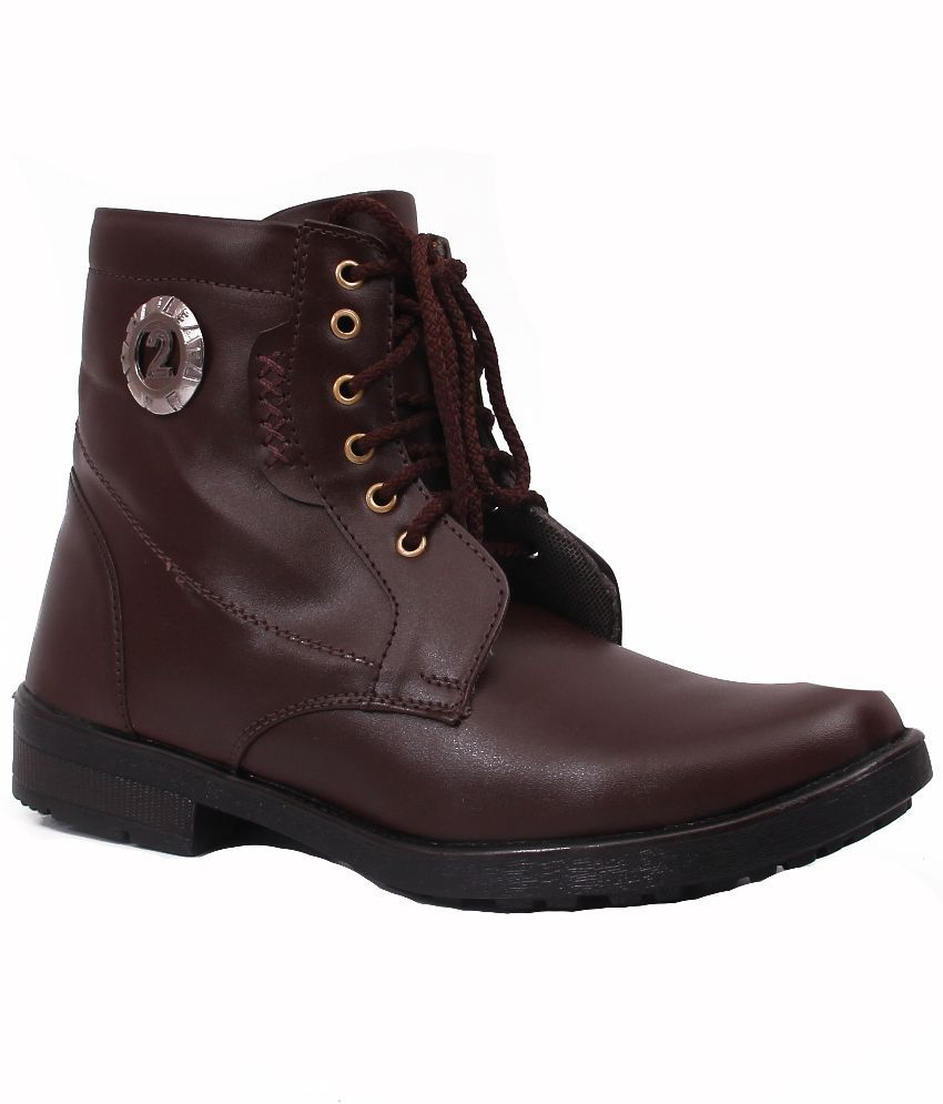 Frick Brown Boots