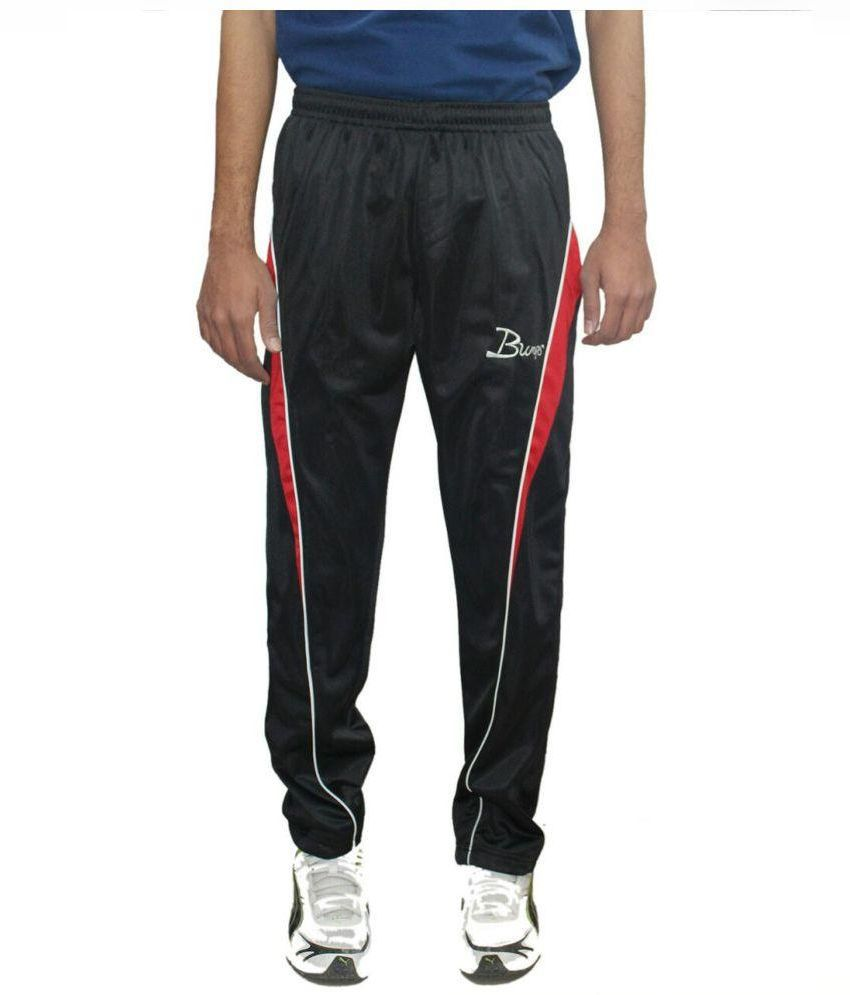 K K Enterprises Black Trackpants
