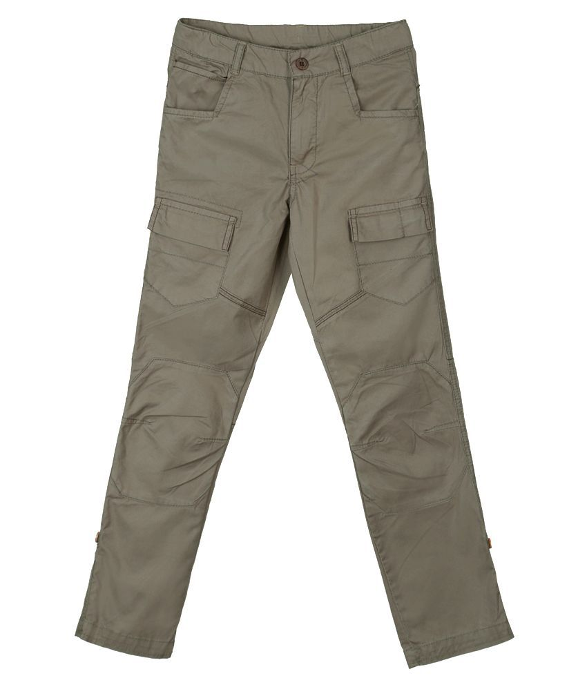 Lilliput Gray Cargos For Boys
