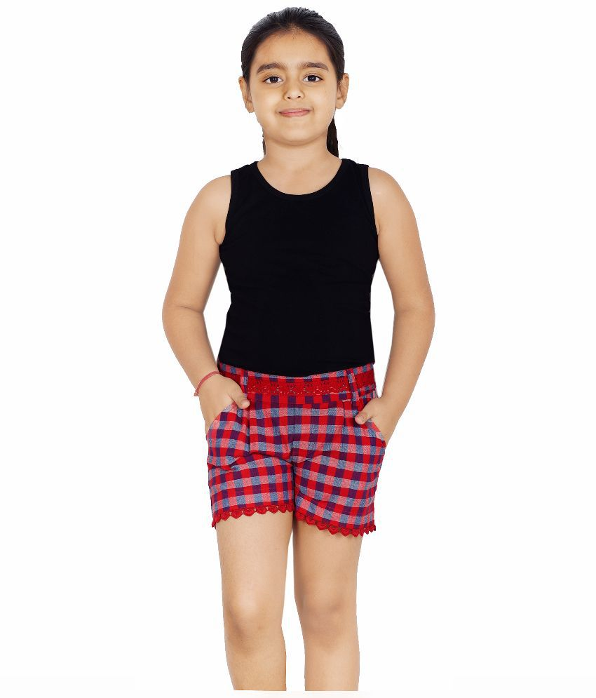 Naughty Ninos Multicolor Cotton Shorts