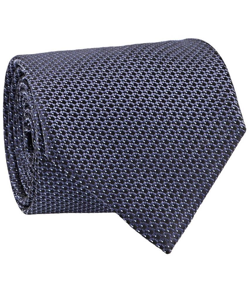 Milano X'Xssories Black Dots Micro Fiber Necktie