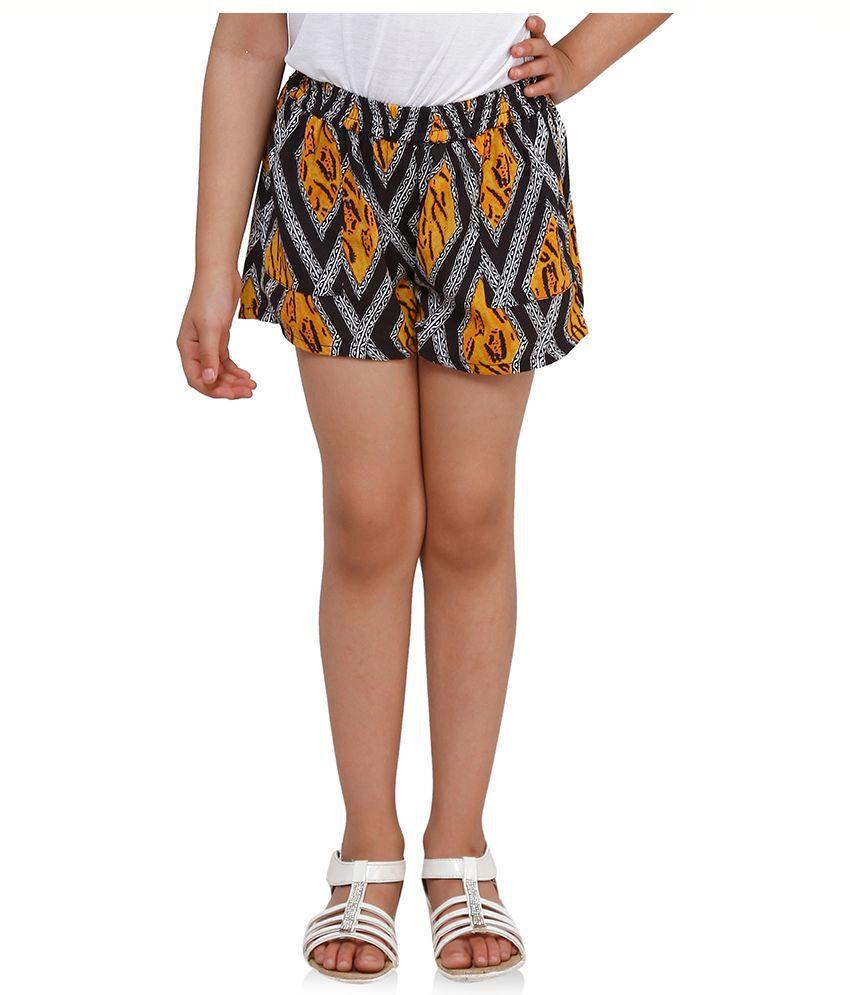 Oxolloxo Multicolour Polyester Shorts