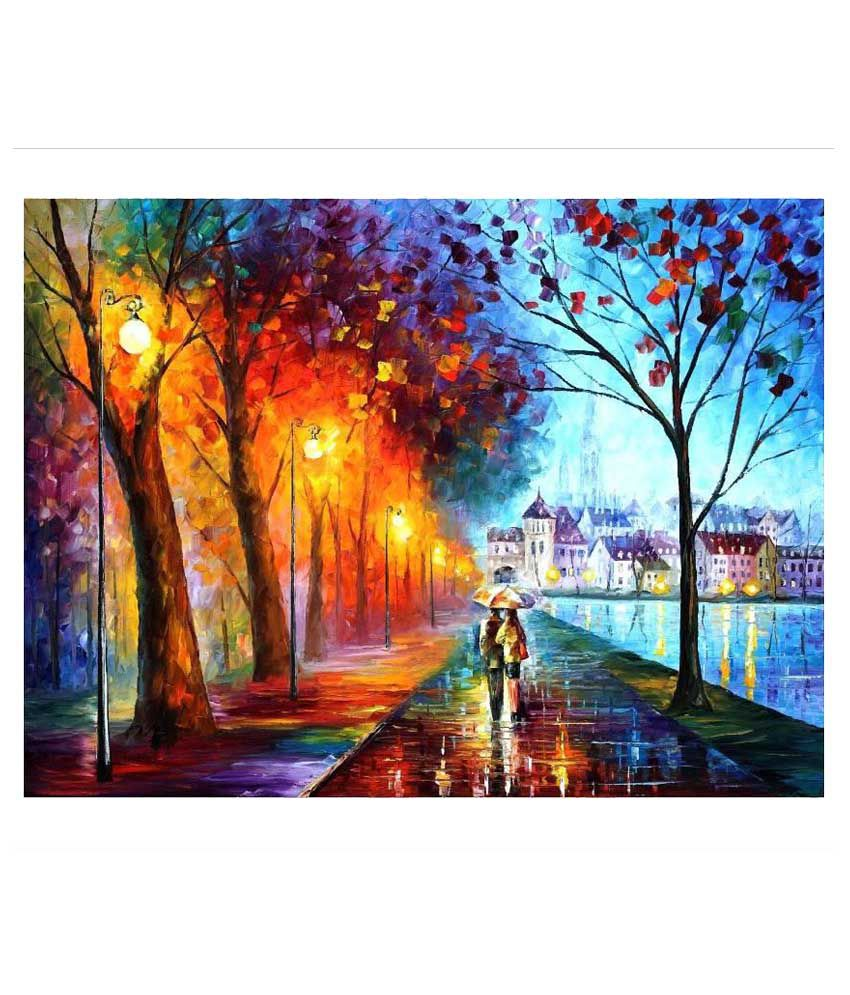 Banner Magnificent Collection Sunboard Painting Without Frame Single Piece