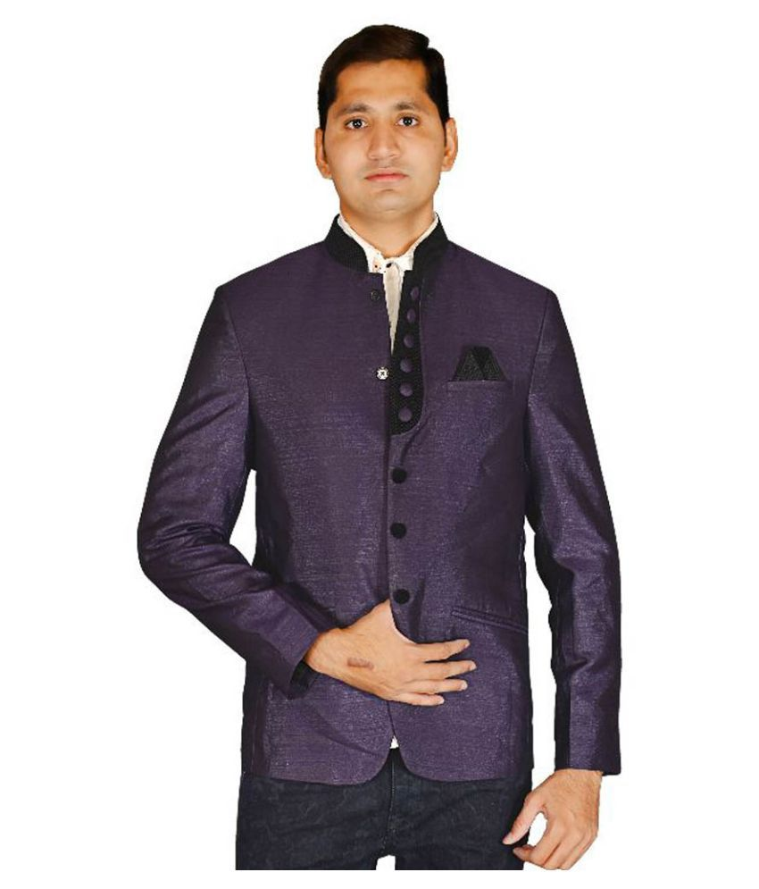 Md Fashion Purple Party Blazers