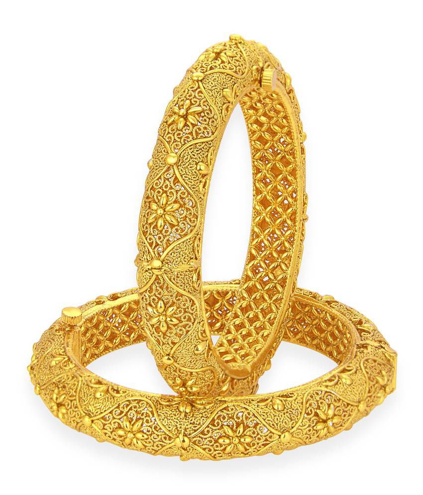 c4f1273c548 Sukkhi Alloy Gold Plated Bangle Set  Buy Sukkhi Alloy Gold Plated Bangle Set  Online in India on Snapdeal