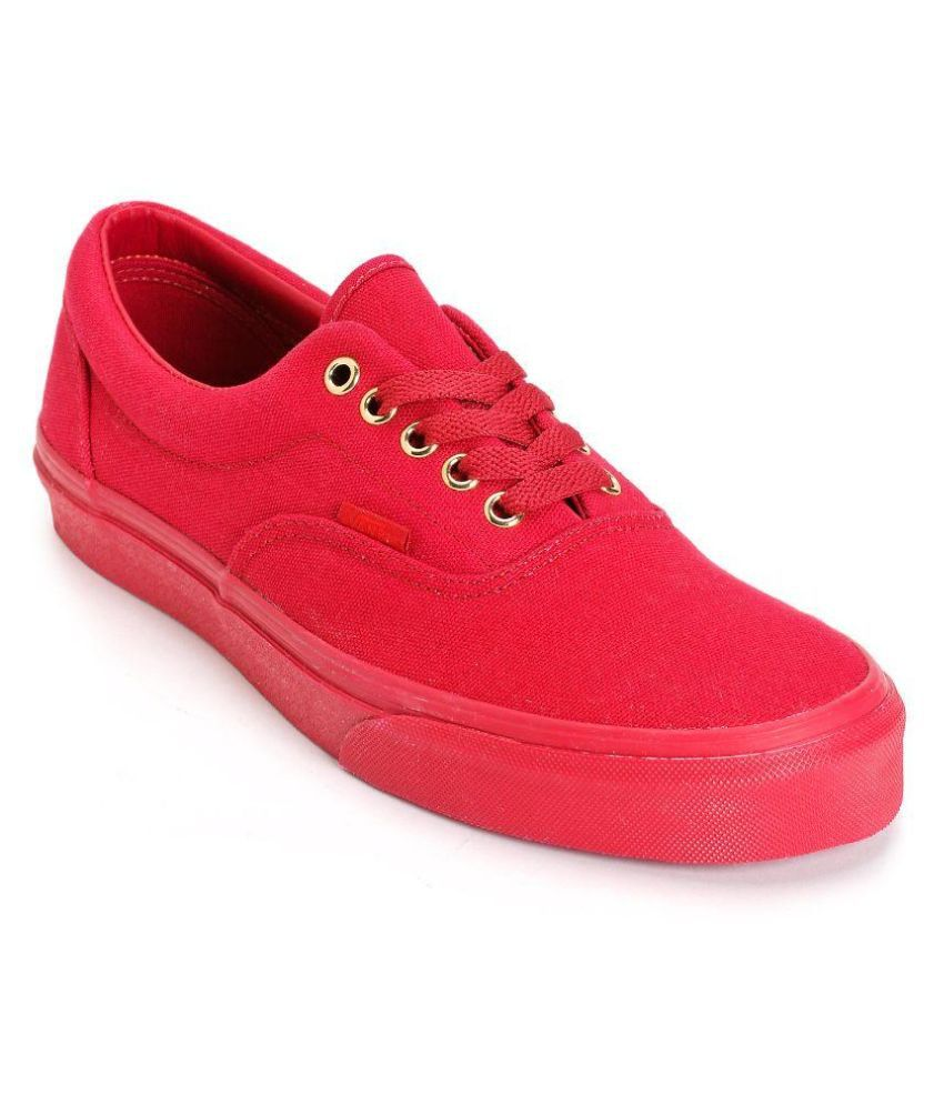 Vans Red Canvas Shoes - Buy Vans Red Canvas Shoes Online at Best Prices in  India on Snapdeal d661e3f9d