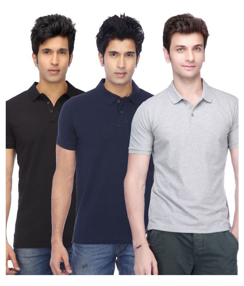 Concepts Multi Polos Pack of 3