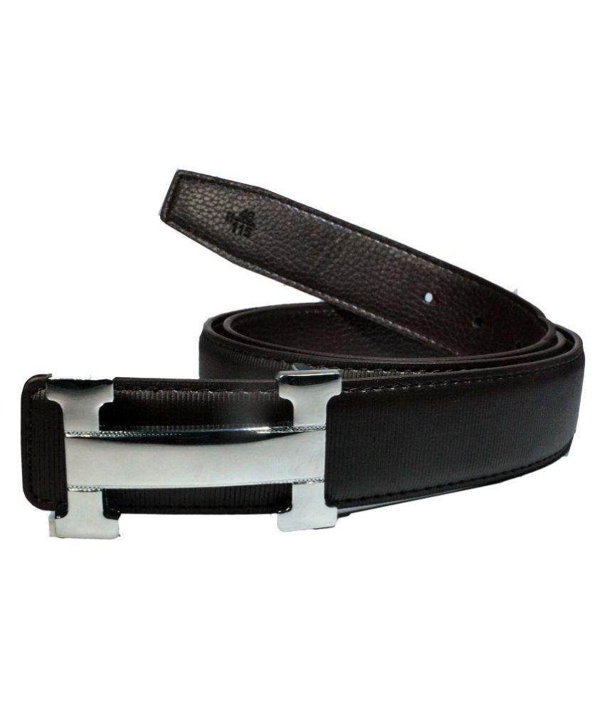 Kalewensen Black Leather Belt