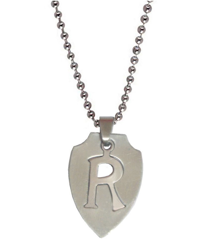Men Style Silver Stainless Steel Pendant with Chain
