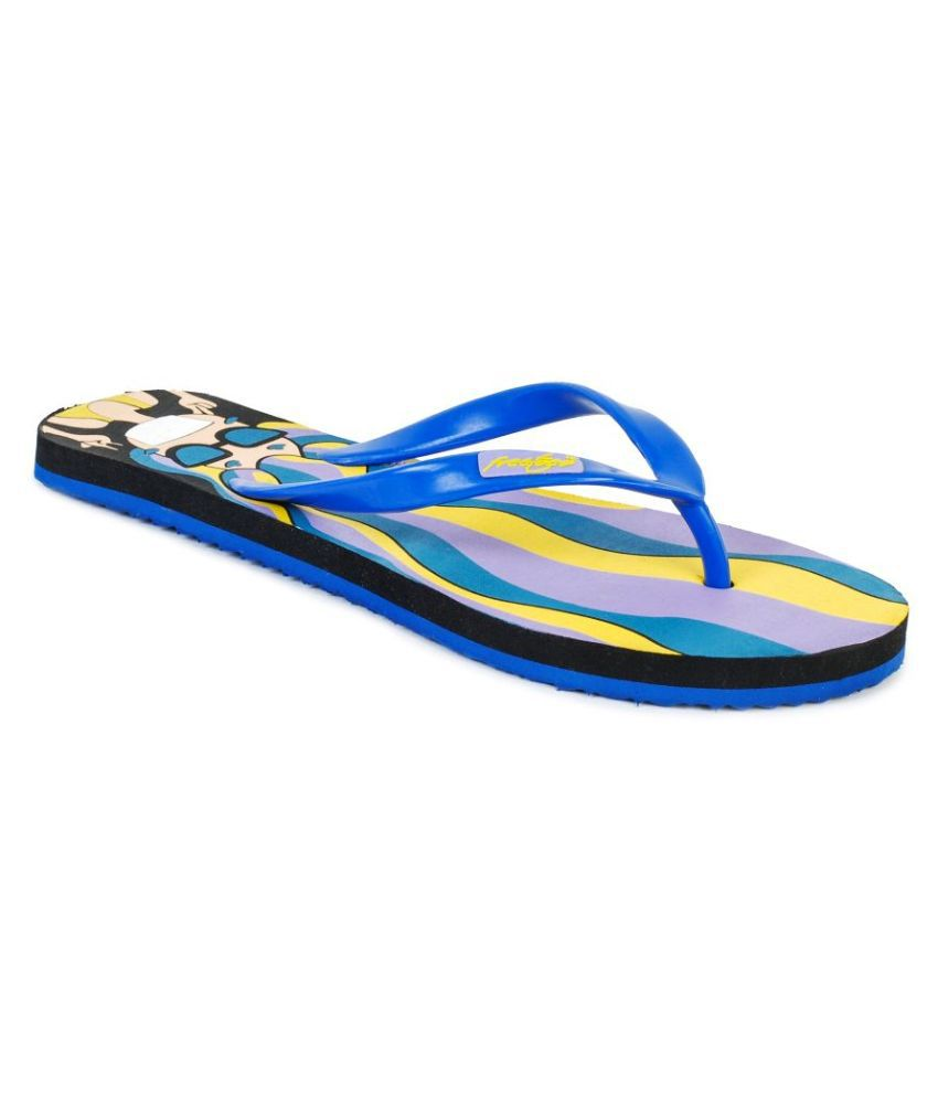 Freetoes Multi Color Flip Flops