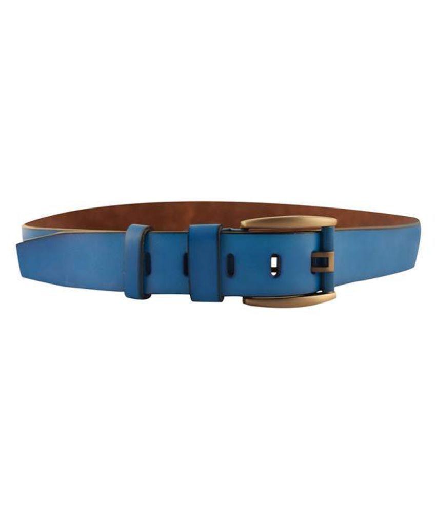 IPG Blue Reversible Casual Belt for Men