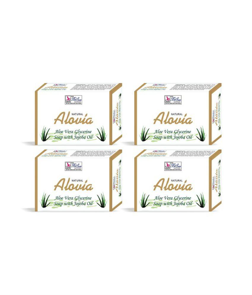 Besure Aloe Vera Soap - Pack Of 4(75gm Each)