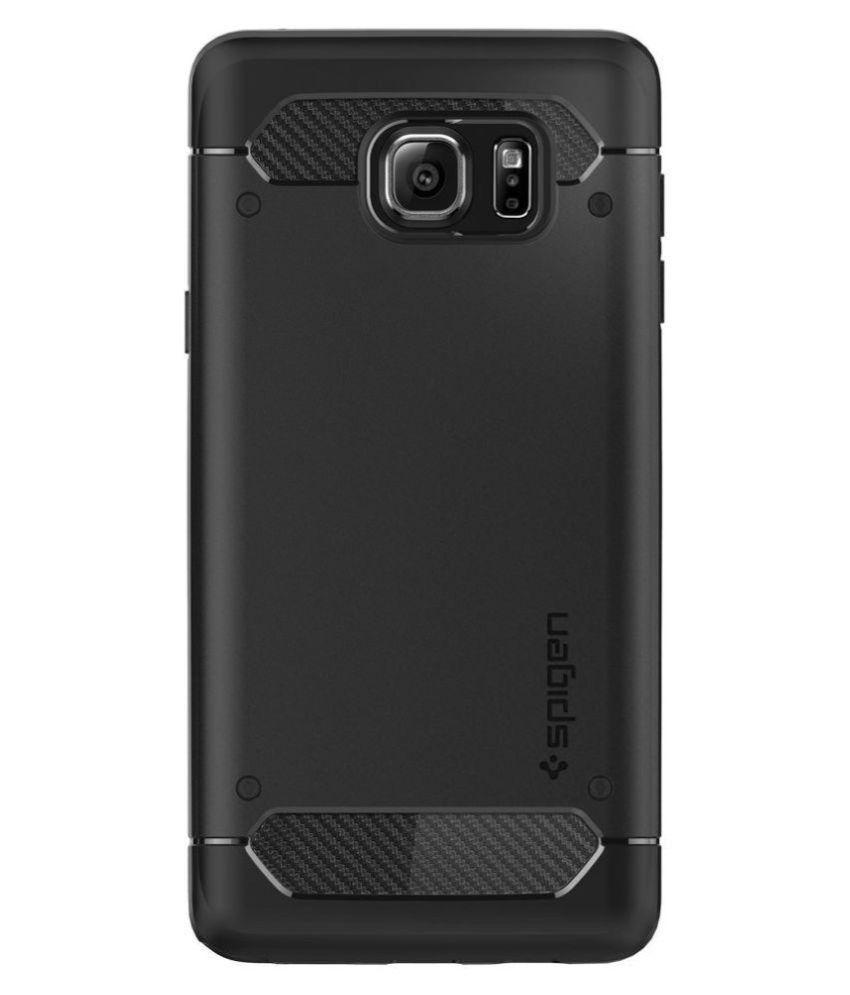 separation shoes 9e285 eb06f Spigen Galaxy Note 5 Case Capsule Ultra Rugged (Black) SGP11683
