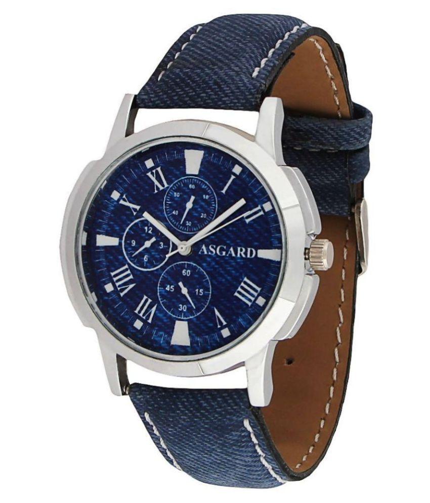 Asgard Blue Analog Watch - Buy Asgard Blue Analog Watch ...