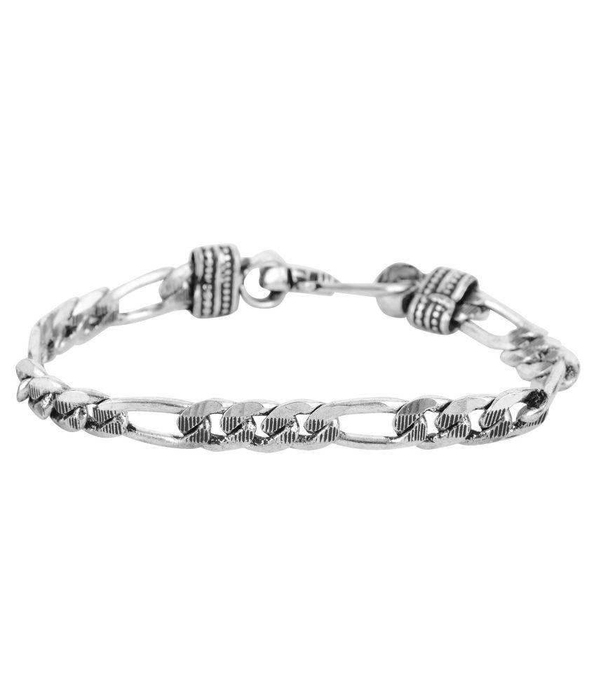 Beadworks Silver Bracelet for Men