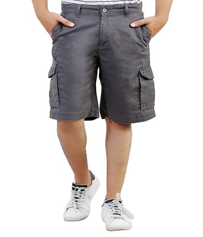 Lamode Grey Shorts