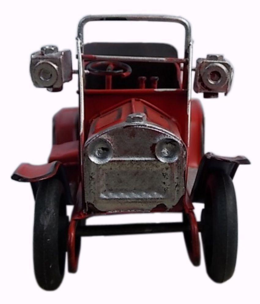 Nafees Vintage Car Model Showpiece - Red: Buy Nafees Vintage Car ...