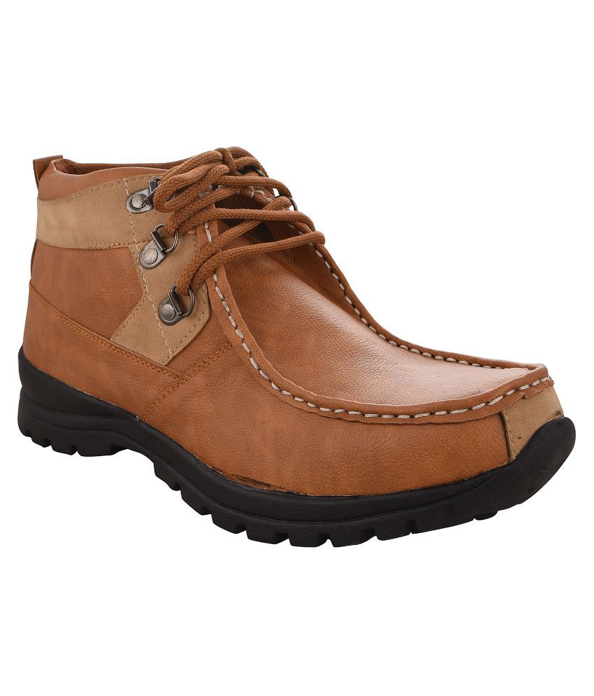 Radiant Brown Boots