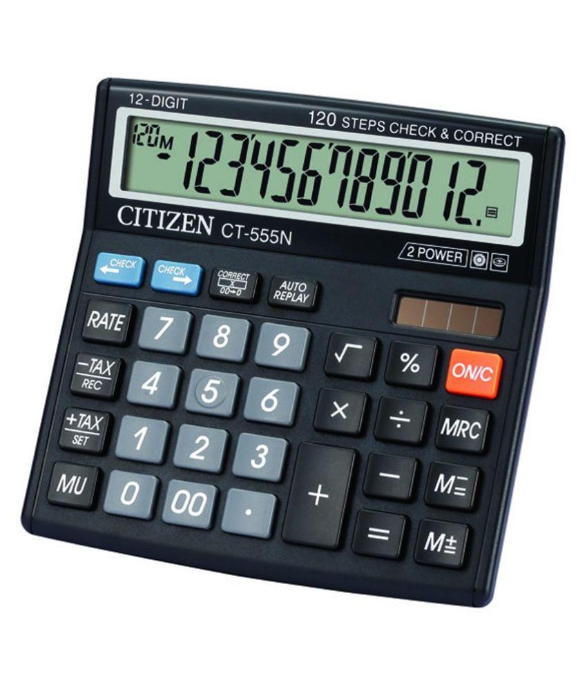 Citizen CT 555N Basic Calculator: Buy Online At Best Price