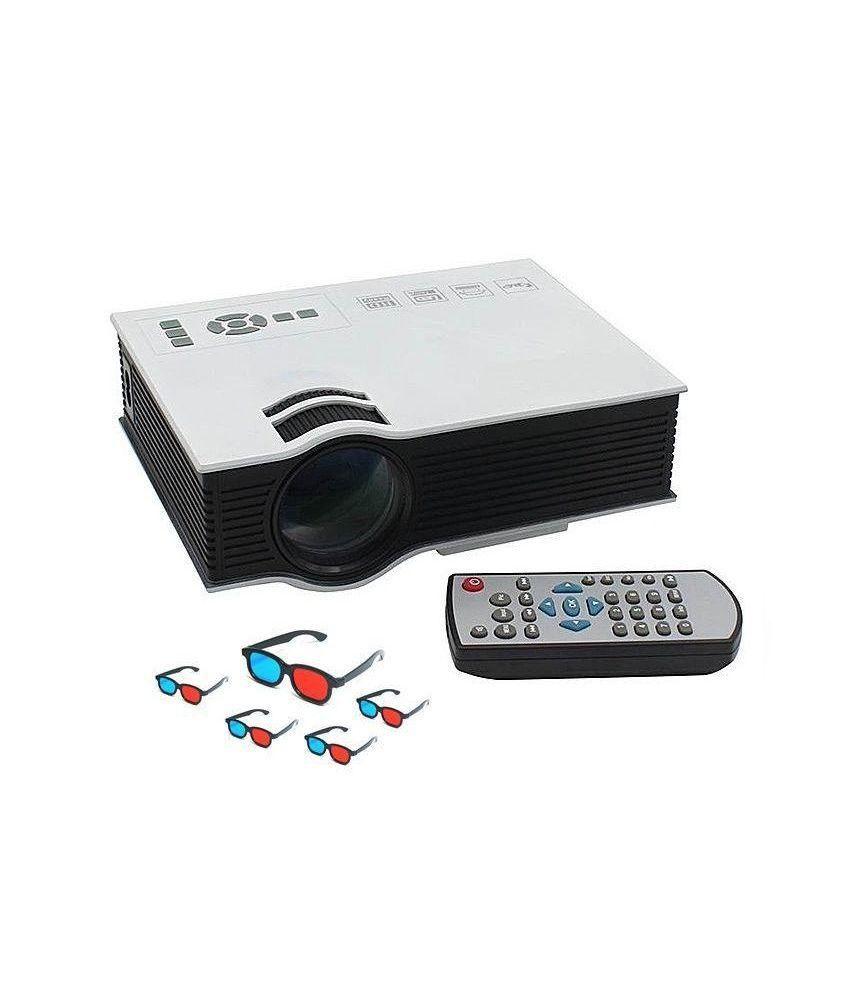 Buy mdi uc40 mini portable projector 800 lumens for home for Compare pocket projectors