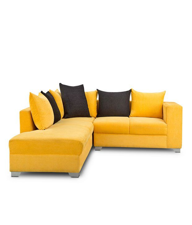 Yellow Sofa Set How To Design With And Around A Yellow