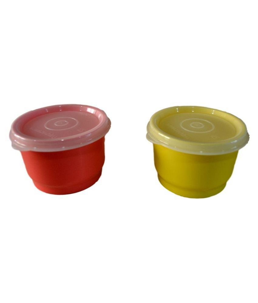 Tupperware Snack Cups Set Of 2 Buy Online At Best Price