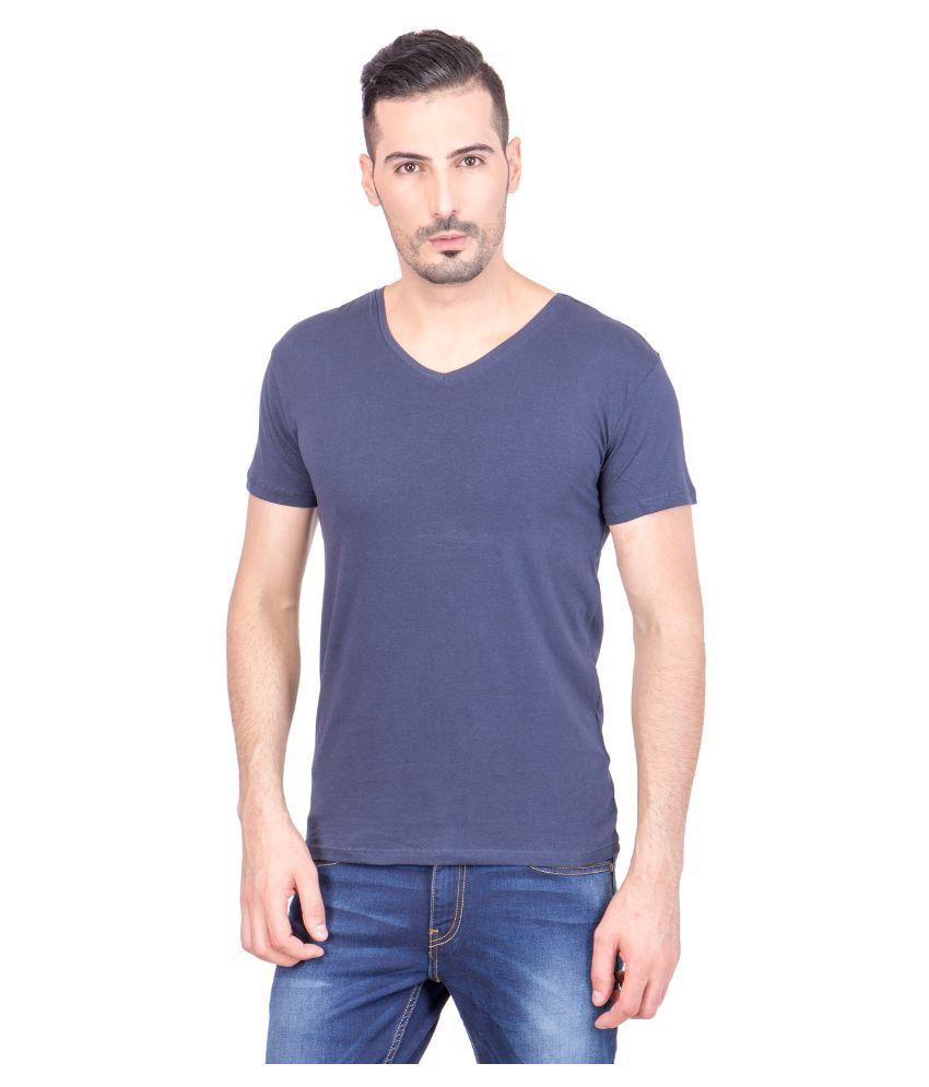 Eagle Blue V-Neck T Shirt No