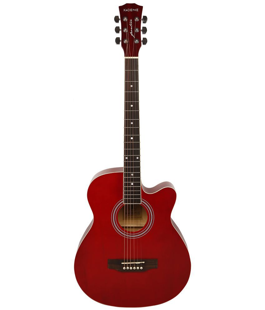 kadence frontier series acoustic guitar red buy kadence frontier series acoustic guitar red. Black Bedroom Furniture Sets. Home Design Ideas