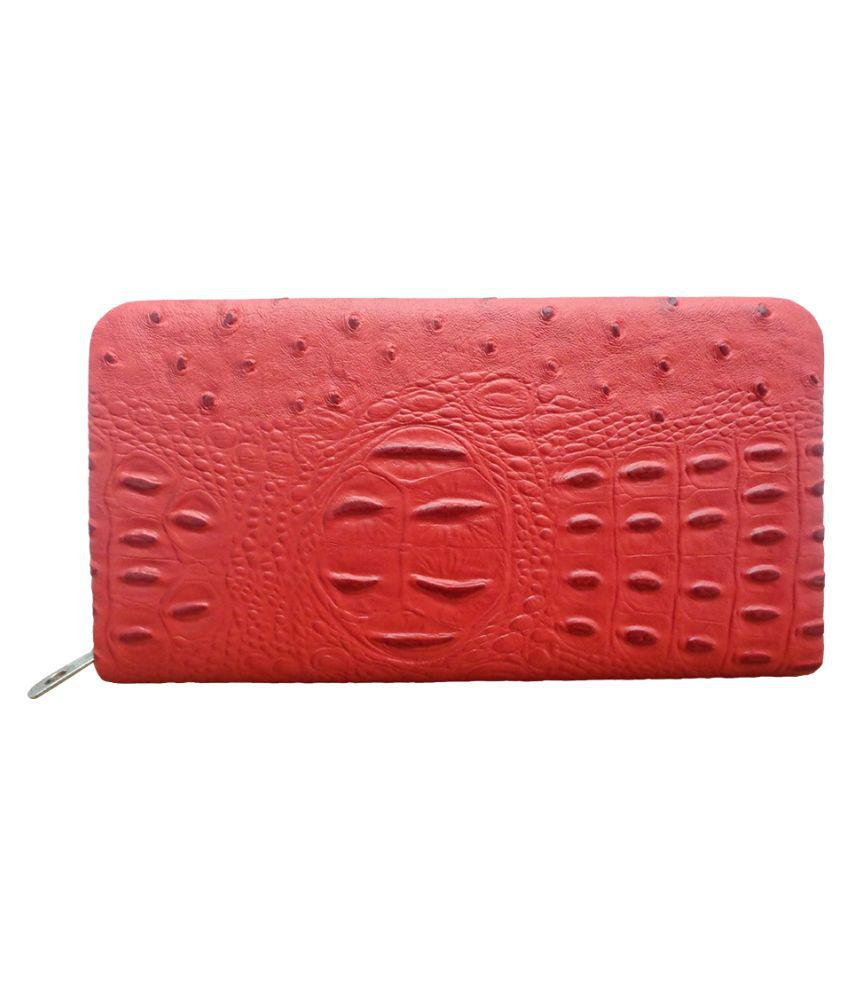 Art N Hub Red Wallet