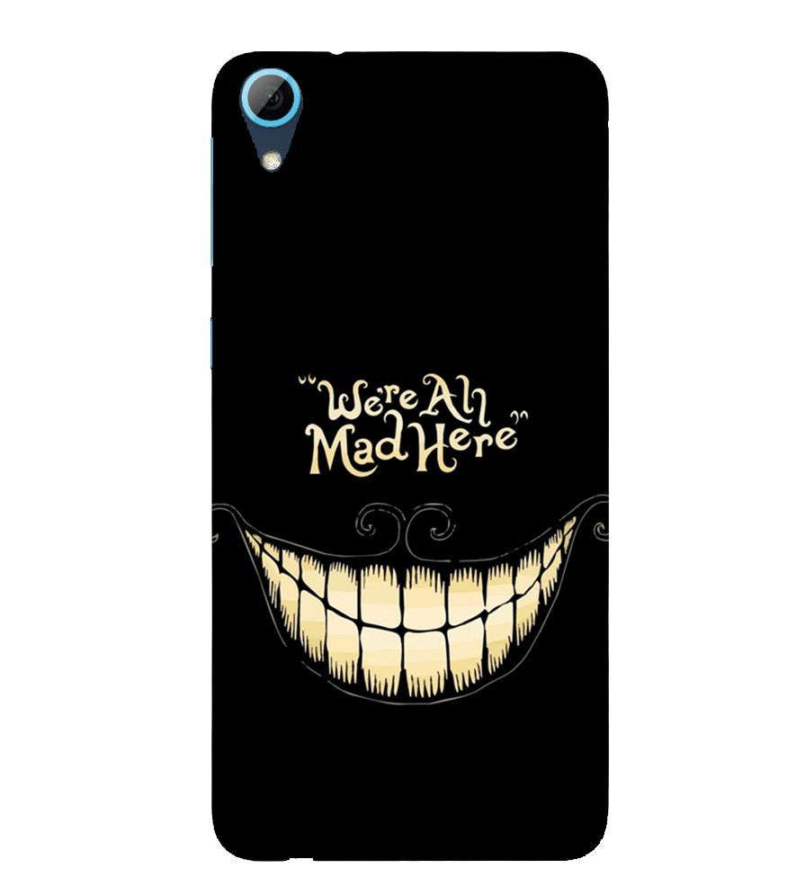 Evaluze quotes Printed Back Case Cover for HTC DESIRE 820