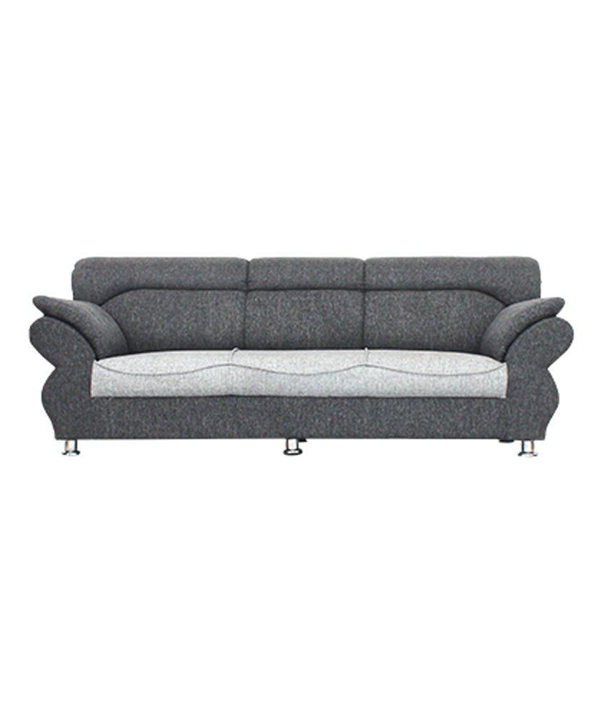 bharat life style neo light grey jute 3 1 1 seater sofa set buy rh snapdeal com