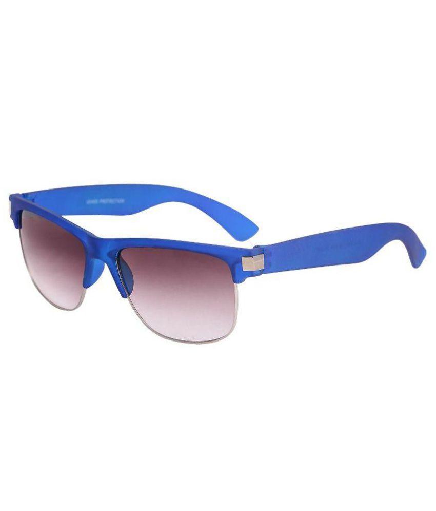 3a69beabd Stylen Brown lens Blue Frame Unisex Wayfarer Style Sunglasses - Buy Stylen Brown  lens Blue Frame Unisex Wayfarer Style Sunglasses Online at Low Price - ...