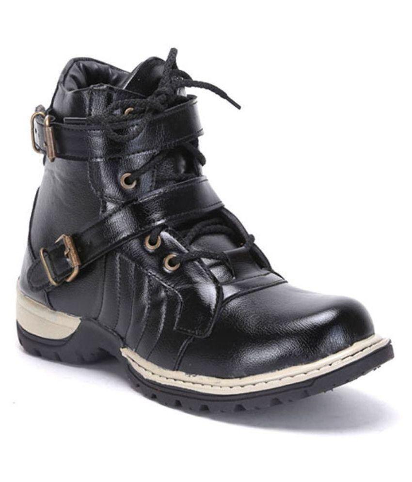 T-Rock Black Boots