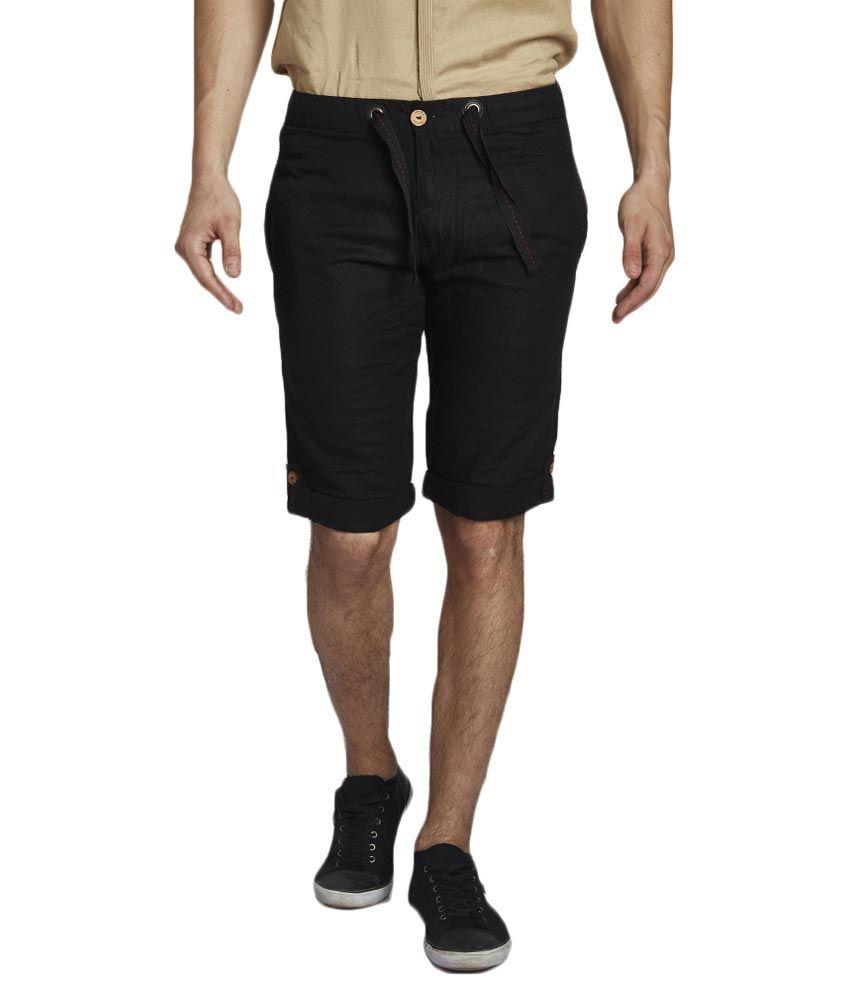 Beevee Black Shorts