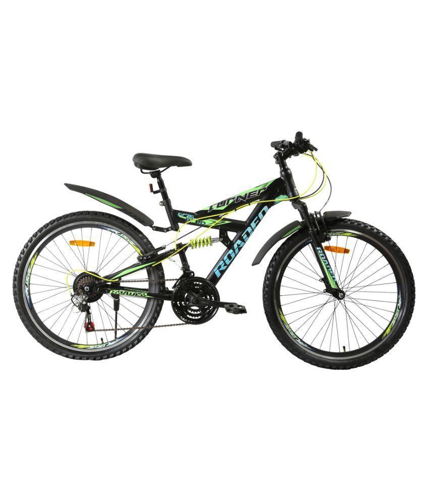 eb0b3b96add Hercules Roadeo Turner Black & Green 26T 21 Speed Gear Bicycle for Men  Adult Bicycle/Man/Men/Women / Gear cycle