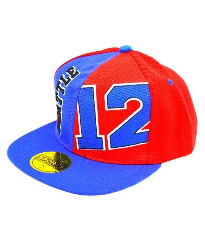 V Walkers Multicolour Cotton Baseball Cap for Men