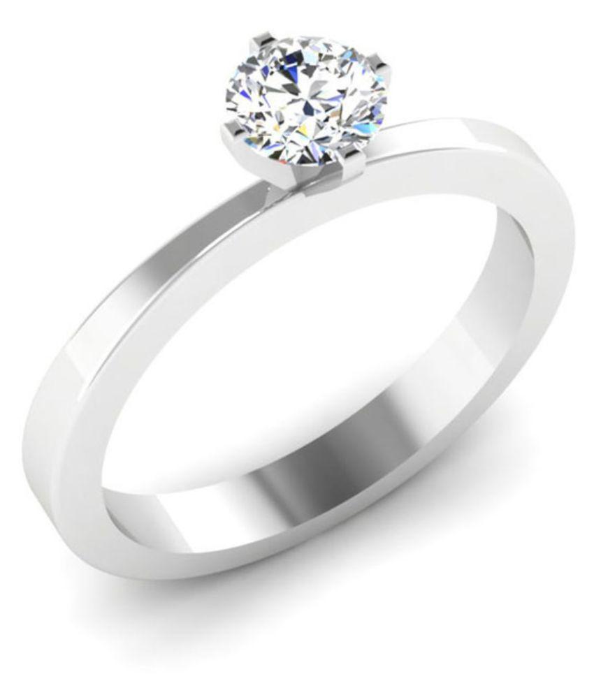 Carat Forever 14kt White Gold Diamond Ring