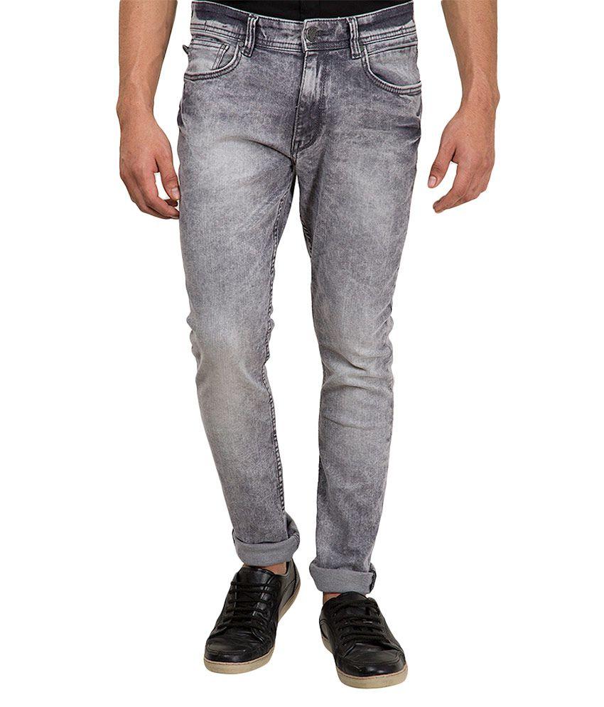 locomotive grey slim fit jeans buy locomotive grey slim. Black Bedroom Furniture Sets. Home Design Ideas