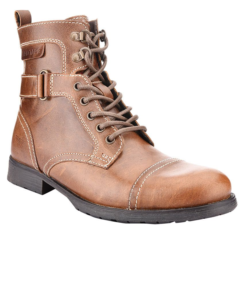 Red Tape RTS6223 Tan Boots - Buy Red Tape RTS6223 Tan ...