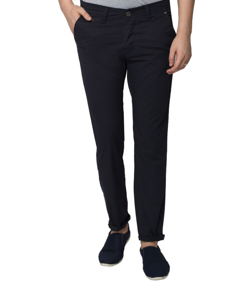883 Police Navy Slim Fit Chinos