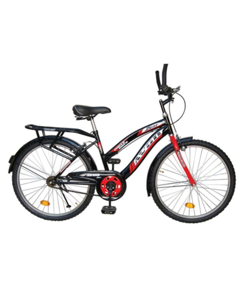 9e69af4c879 Avon Cycles ZEST 24T Bicycle - Black Adult Bicycle Man Men Women  Buy Online  at Best Price on Snapdeal