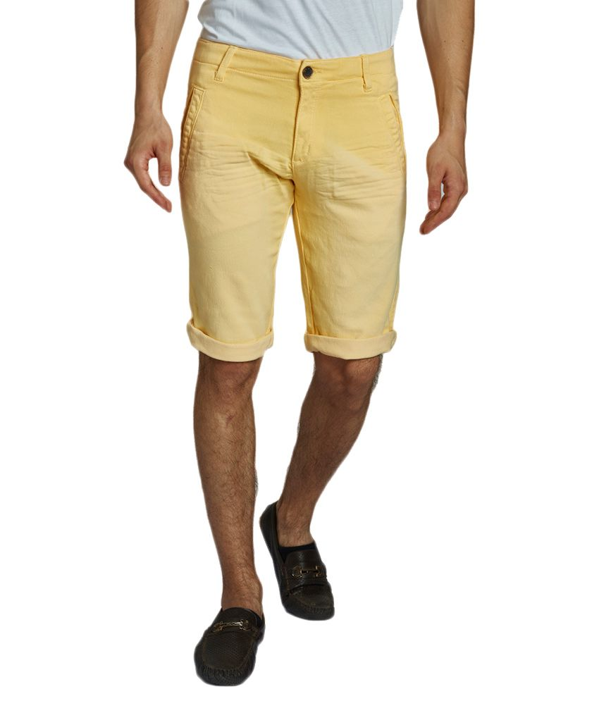 Beevee Yellow Shorts