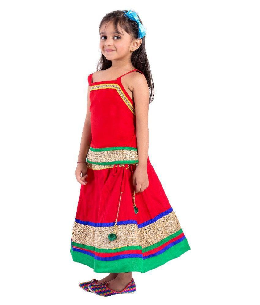 ed5f18f80697 Magnus Embroidered Girl s Lehenga Choli - Buy Magnus Embroidered ...