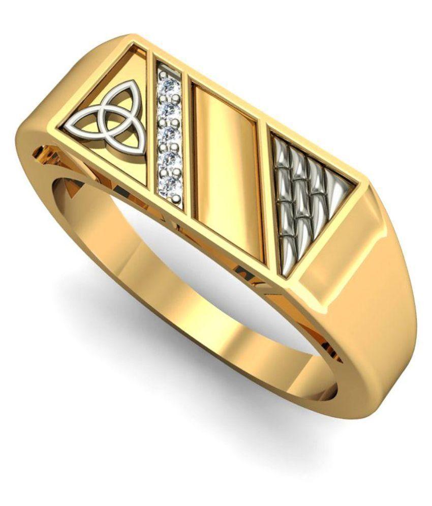 Rasav Jewels BIS Hallmark 14Kt Gold Ring