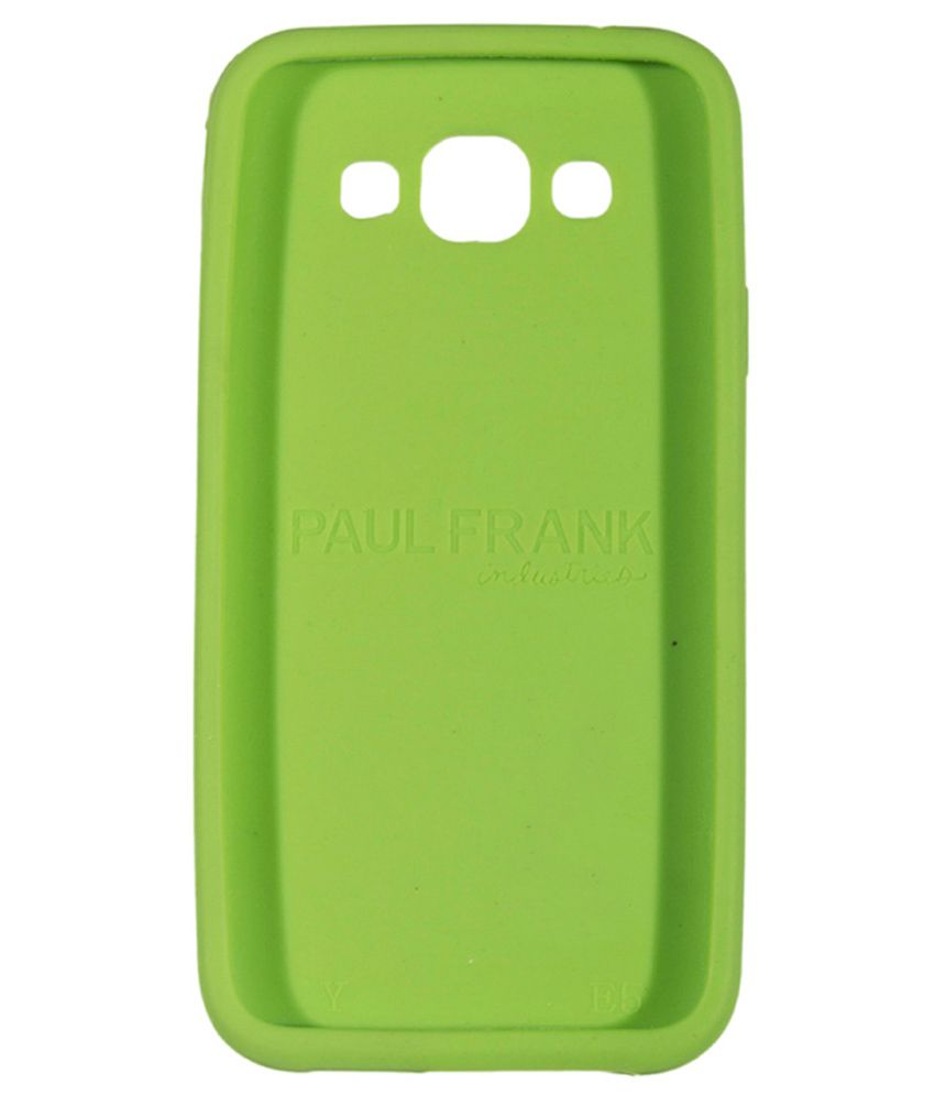 newest collection ce894 8aab7 Samsung Galaxy E5 Printed Back Cover by Go Crazzy - Green with USB LED Light
