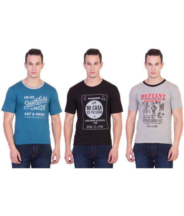 Xscape Multi Round T Shirt