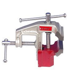 KETSY Carpenter Tool Red Iron Cast Baby Vice - 50 mm