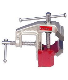 Ketsy Red Iron Cast Baby Vice - 70 mm