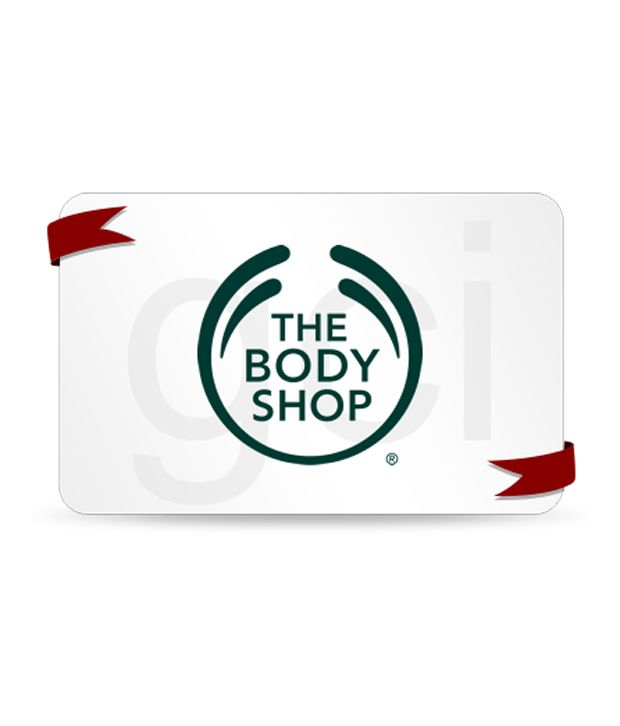 Buy The Body Shop Gift Card Online on Snapdeal