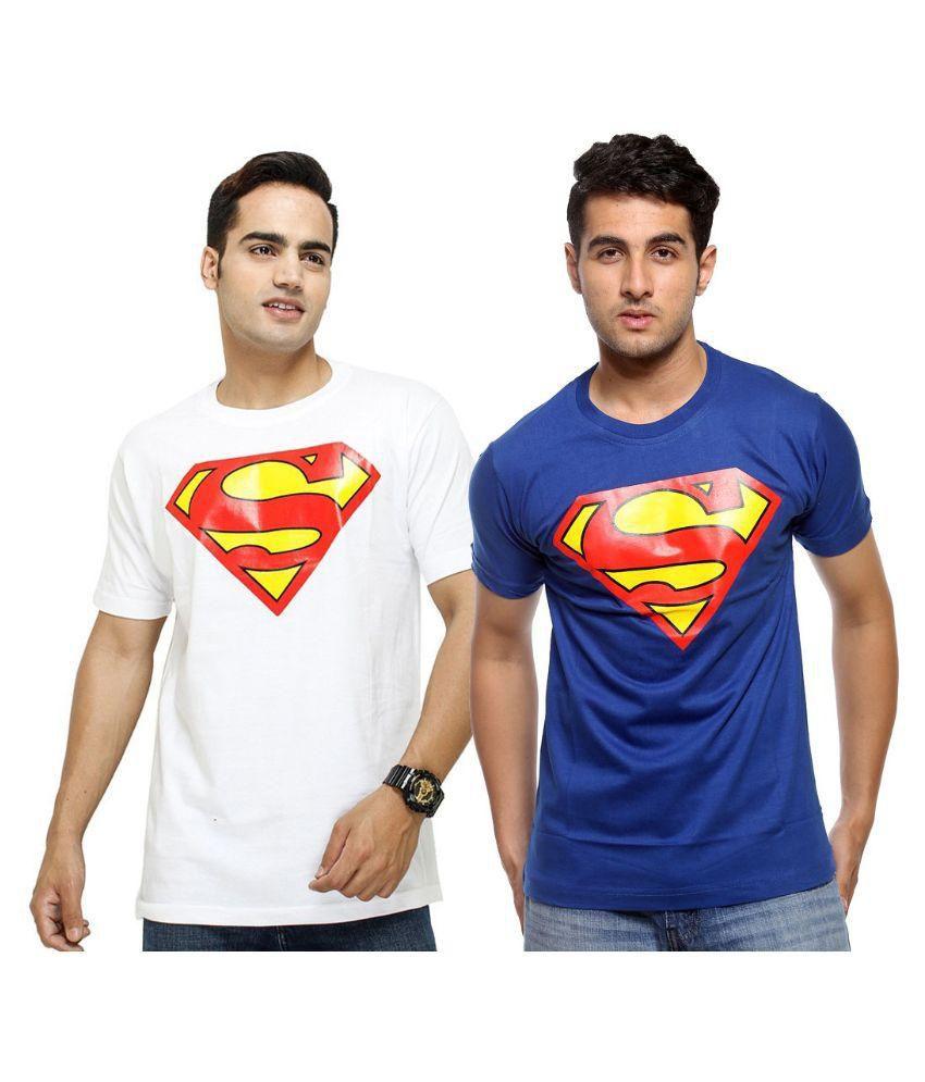 iLyk Multi Round T Shirt Pack of 2